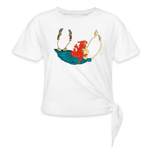 Frit fald - Dame knot-shirt