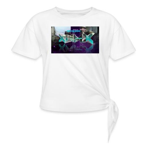 XZWhModzZX - Dame knot-shirt