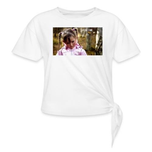 Lille Lise Picture - Women's Knotted T-Shirt