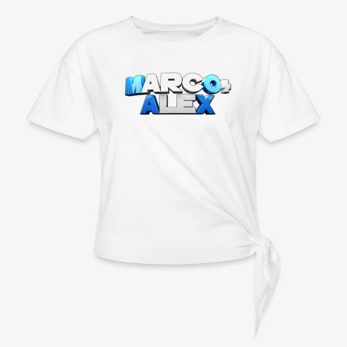 Logo Marco+Alex - Maglietta annodata