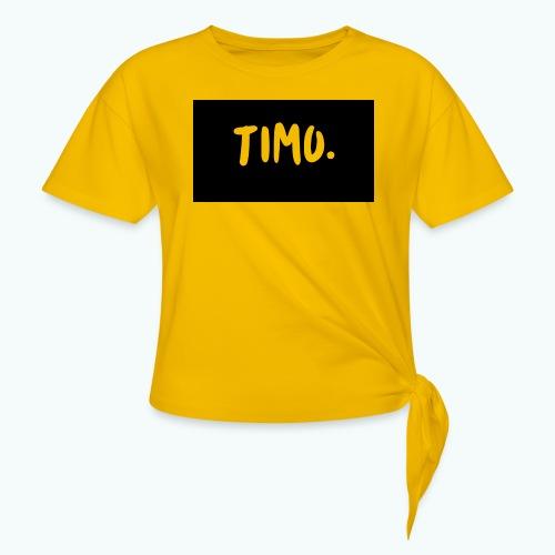 Ontwerp - Vrouwen Geknoopt shirt