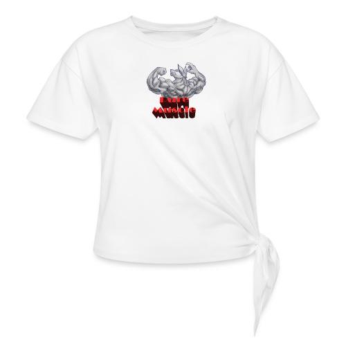 Pure Muscle BestFitness - Camiseta con nudo