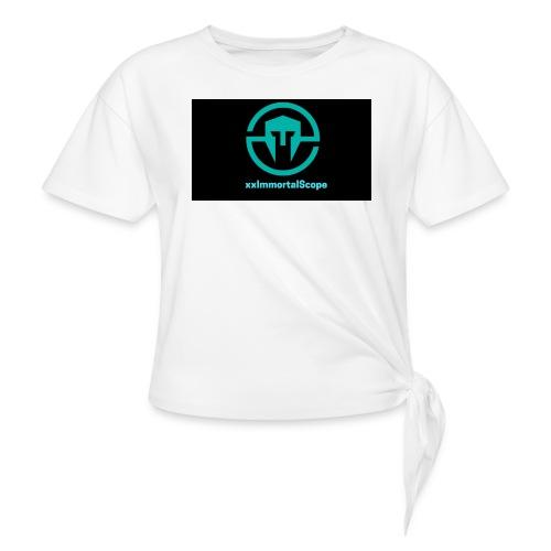 xxImmortalScope throwback - Knotted T-Shirt