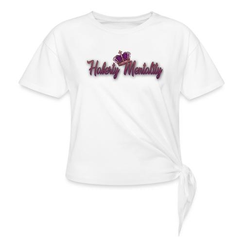 Haberty Mentality - T-shirt à nœud