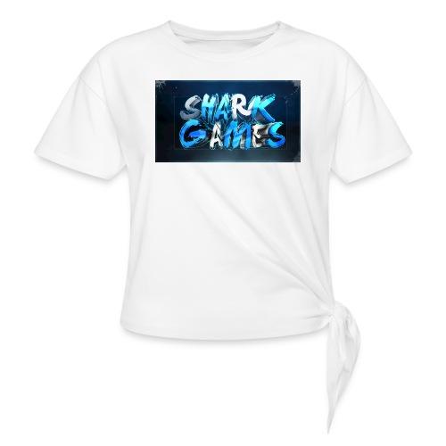 SharkGames - Maglietta annodata da donna