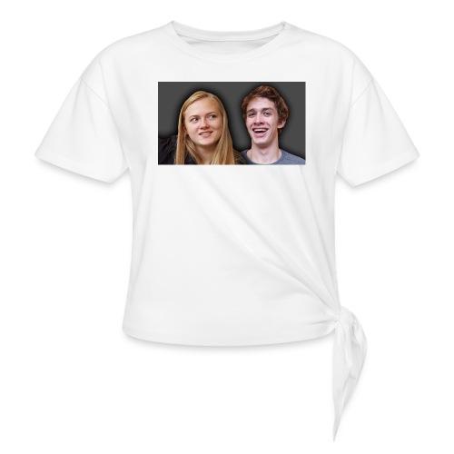 Profil billede beska ret - Dame knot-shirt