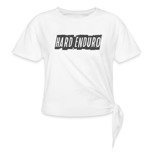 Hard Enduro - Women's Knotted T-Shirt