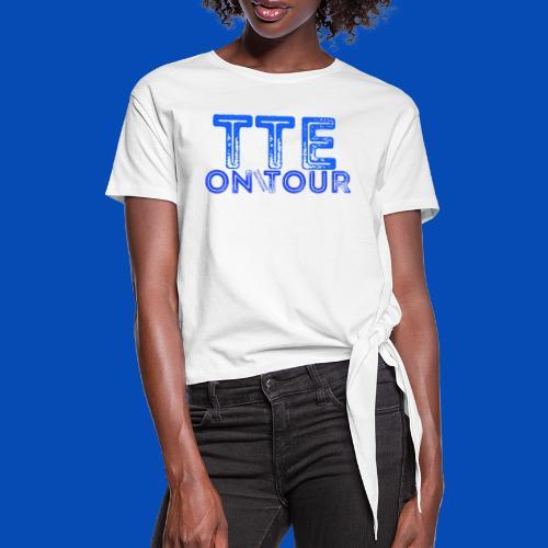 TTE ON TOUR - Frauen Knotenshirt