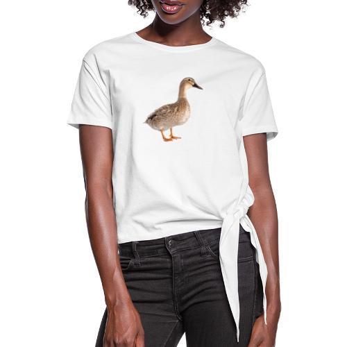 Duck You - Vrouwen Geknoopt shirt
