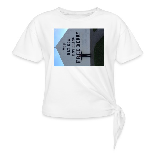 free derry - Knotted T-Shirt