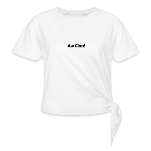 awCl - Knotted T-Shirt