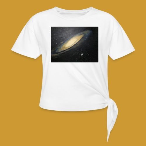 Andromeda - Mark Noble Art - Knotted T-Shirt