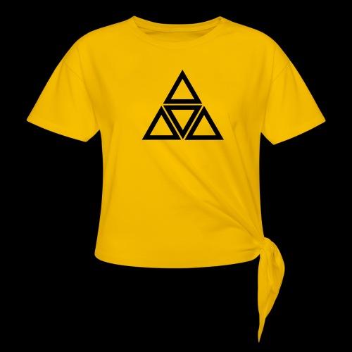 triangle - Maglietta annodata