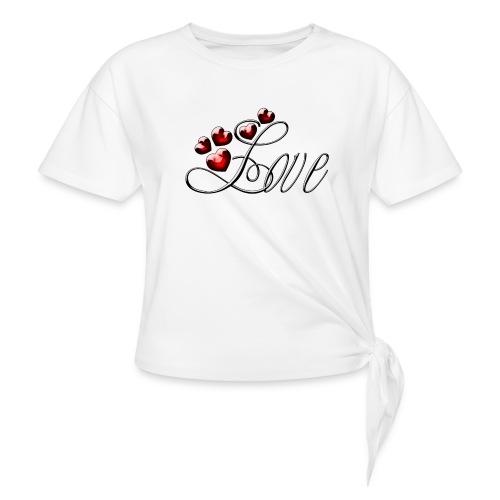 Love Herz - Knotenshirt