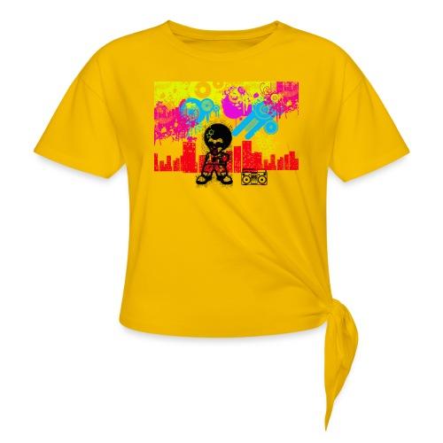 Magliette personalizzate bambini Dancefloor - Maglietta annodata da donna