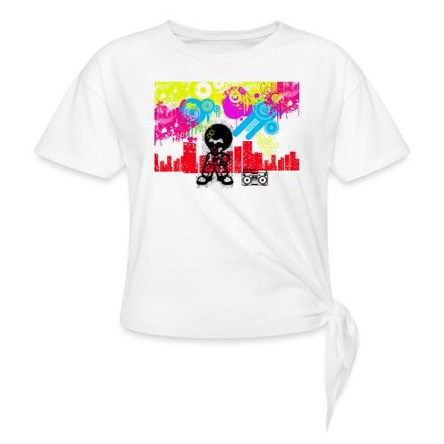 Borse personalizzate con foto Dancefloor - Maglietta annodata da donna