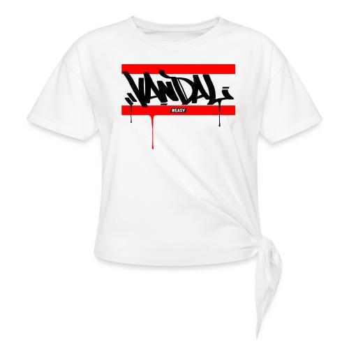 #EASY Graffiti Vandal T-Shirt - Maglietta annodata