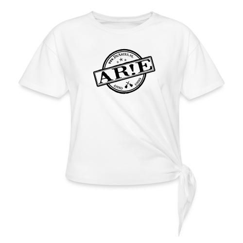 Backdrop AR E stempel zwart gif - Geknoopt shirt