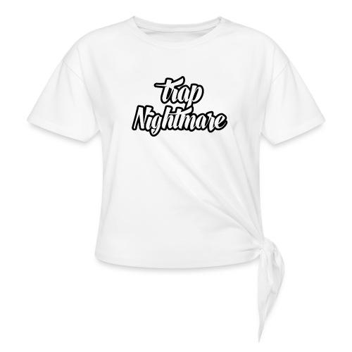 conception lisse - T-shirt à nœud