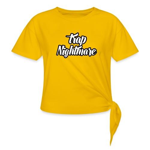 conception lisse - T-shirt à nœud Femme