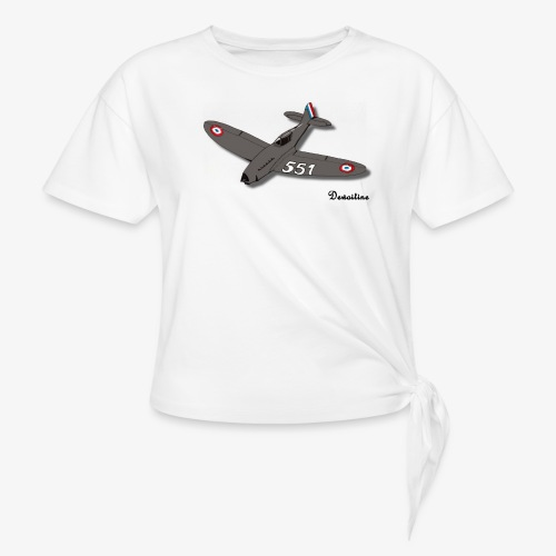 D551 - T-shirt à nœud