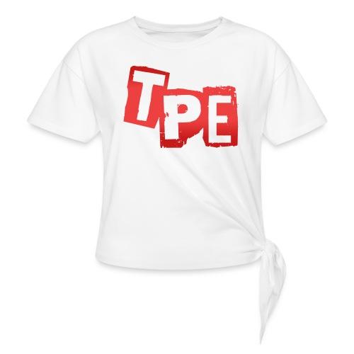 TPE T-Shirt Dam - T-shirt med knut