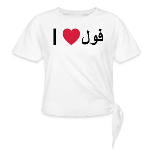 I heart Fool - Knotted T-Shirt