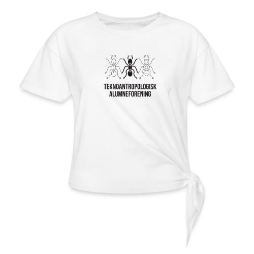 Teknoantropologisk Støtte T-shirt alm - Dame knot-shirt