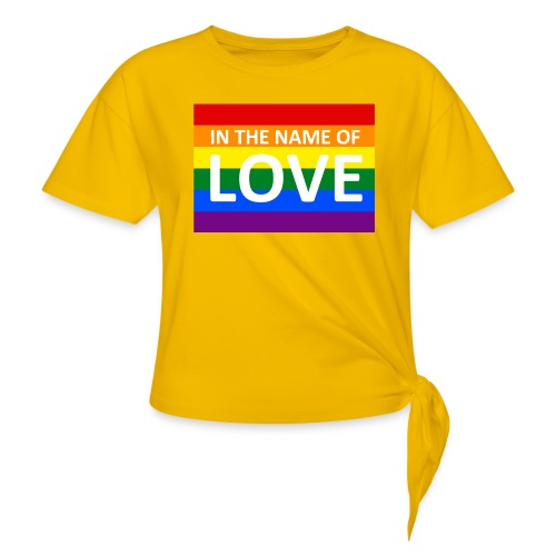 IN THE NAME OF LOVE RETRO T-SHIRT - Knot-shirt