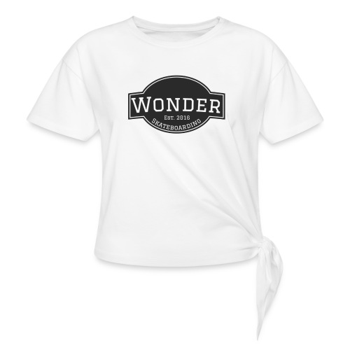 Wonder T-shirt - ol' small logo - Dame knot-shirt