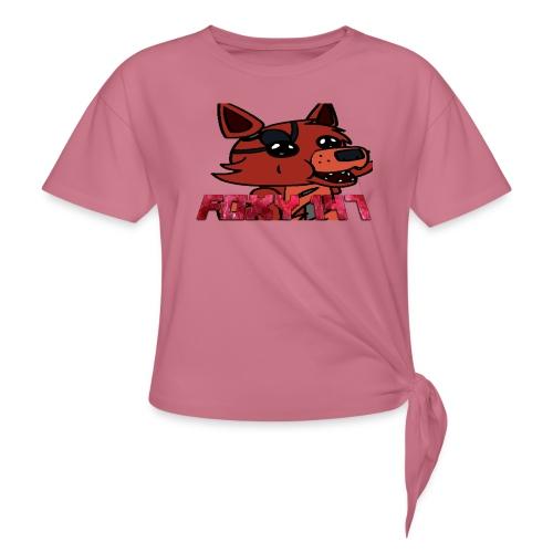 FOXY 147 - Maglietta annodata da donna