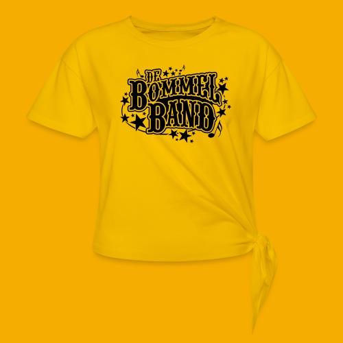 bb logo - Vrouwen Geknoopt shirt