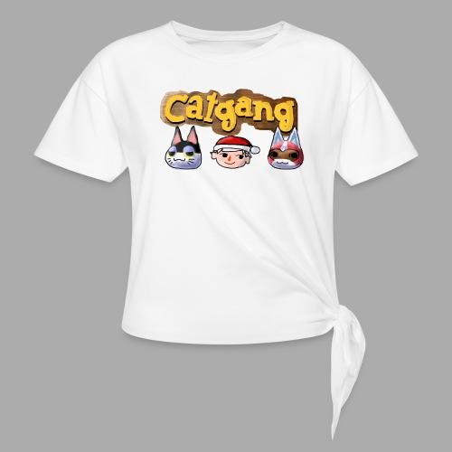 Animal Crossing CatGang - Knotenshirt