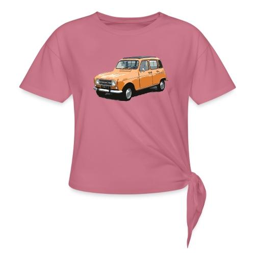 My Fashion 4l - T-shirt à nœud