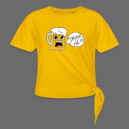 Bière - T-shirt à nœud