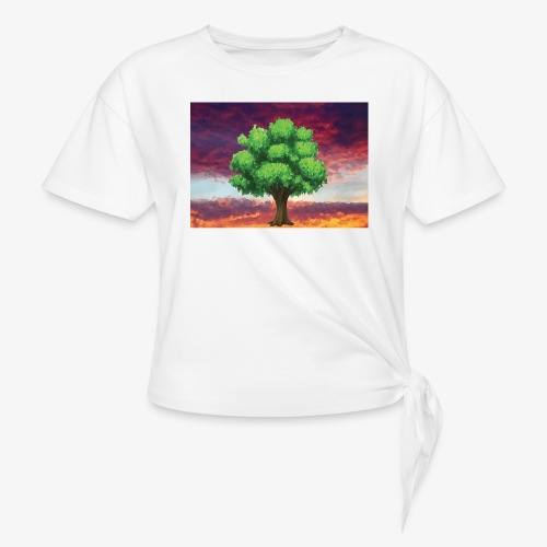 Tree in the Wasteland - Knotted T-Shirt