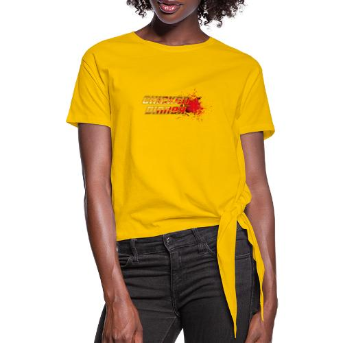 Chicken Dinner - Frauen Knotenshirt