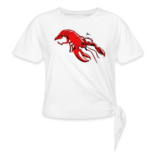Lobster - Knotted T-Shirt