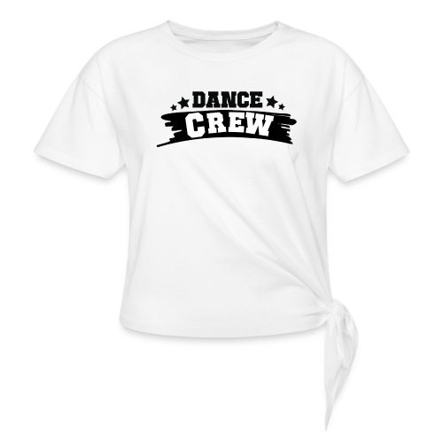 Tshit_Dance_Crew by Lattapon - Dame knot-shirt