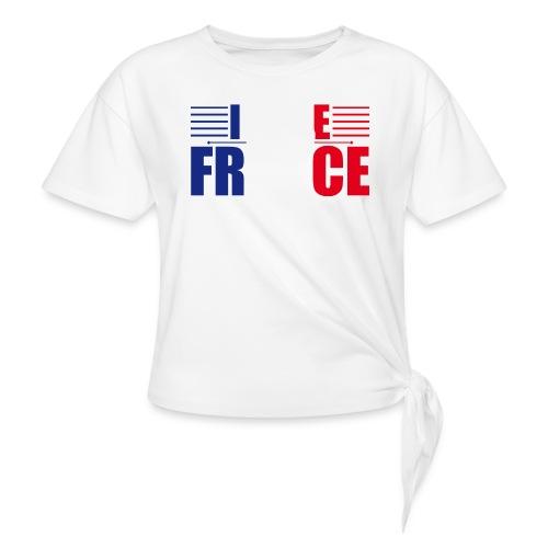 love france - T-shirt à nœud