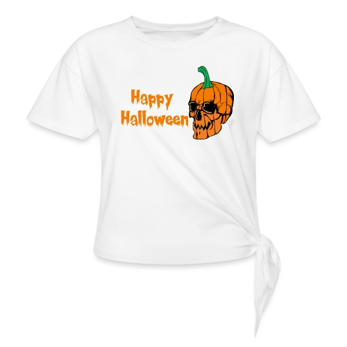 Happy Halloween - Knotted T-Shirt