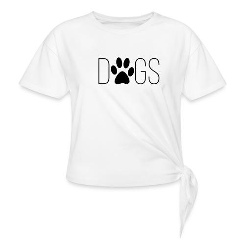 dogs - Geknoopt shirt