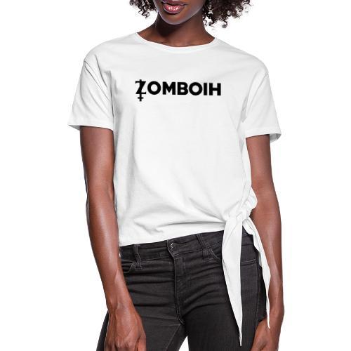 Zomboih - Frauen Knotenshirt