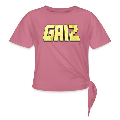 POw3r-gaiz maglia - Maglietta annodata da donna
