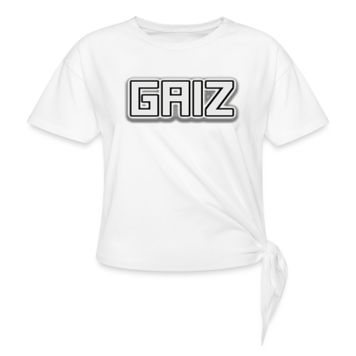 Gaiz maglie-senza colore - Maglietta annodata da donna