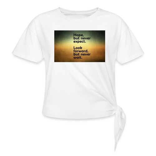 68655307 thoughts wallpapers - Knotted T-Shirt