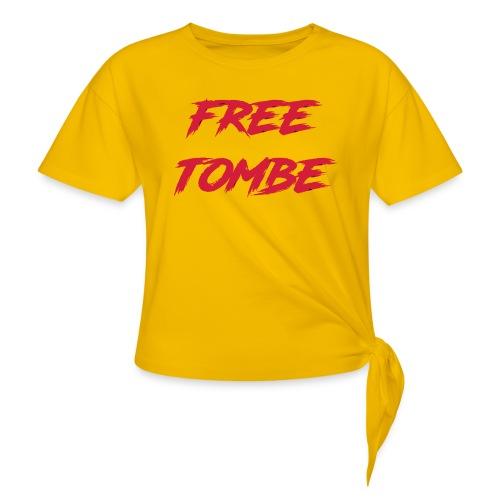 FREE TOMBE AI - Knotenshirt