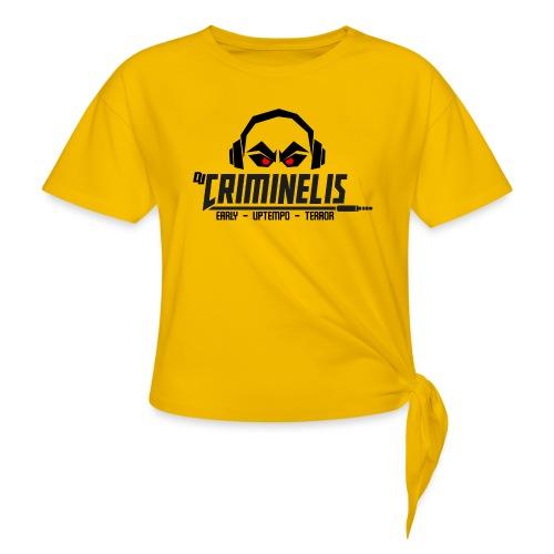 criminelis - Vrouwen Geknoopt shirt