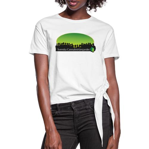 Svenska Cannabisfrämjandet - T-shirt med knut dam