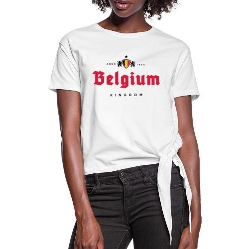 Bierre Belgique - Belgium - Belgie - T-shirt à nœud Femme
